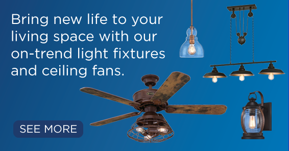 Brighten up your winter blues with some new lighting.
